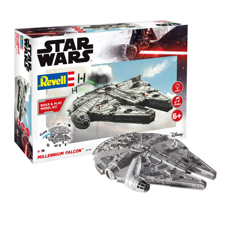 Maquette Star Wars : Build & Play : Faucon Millennium