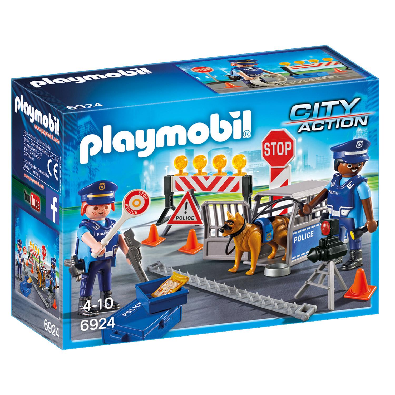 Playmobil 6924 City Action : Barrage de police