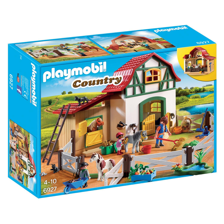 Playmobil 6927 Country : Poney club