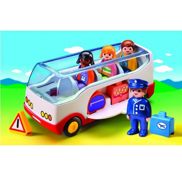 Playmobil 6773 - 1.2.3 - Autocar de voyage