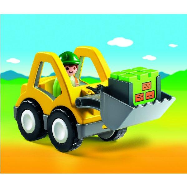 Playmobil 6775 - 1.2.3 - Chargeur et ouvrier