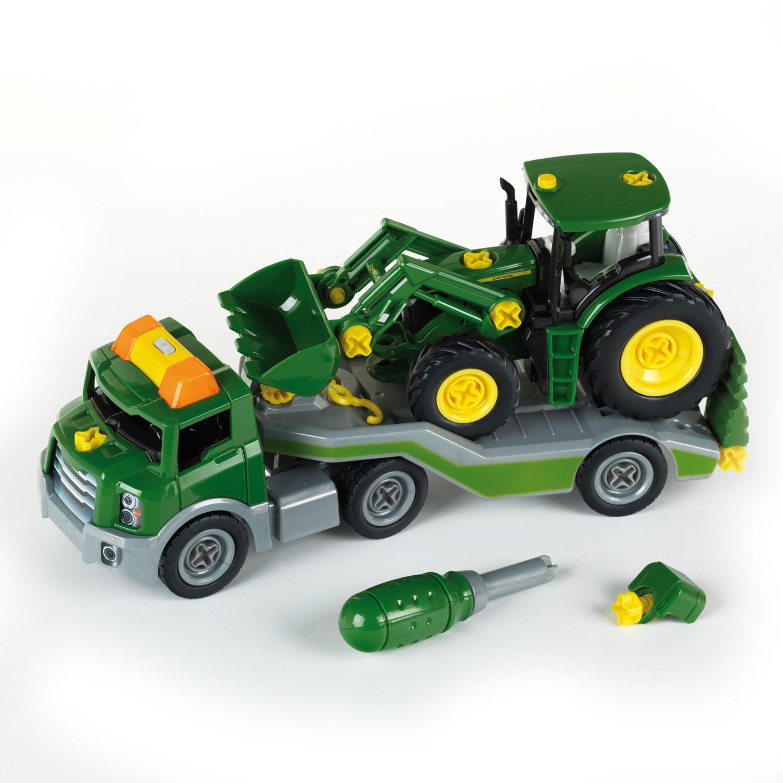 Camion + Tracteur John Deer