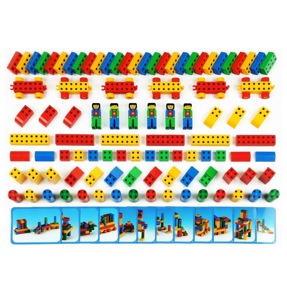 Jeu de construction : Mega set Manetico : 98 pièces