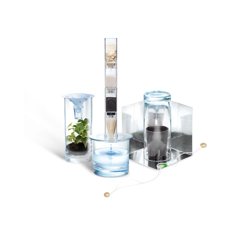 Kit de fabrication Green Science : Filtre à eau