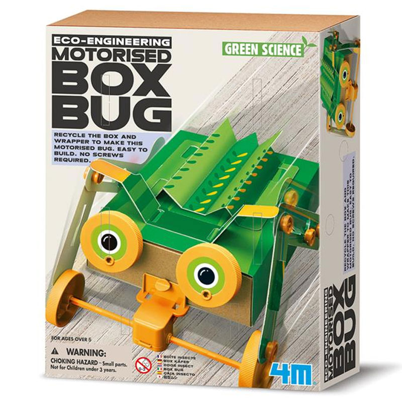 Kit de fabrication Green Science : Boîte Insectes