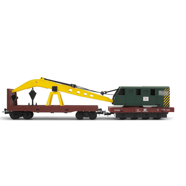 Véhicule pour circuit de train : Grue ferroviaire