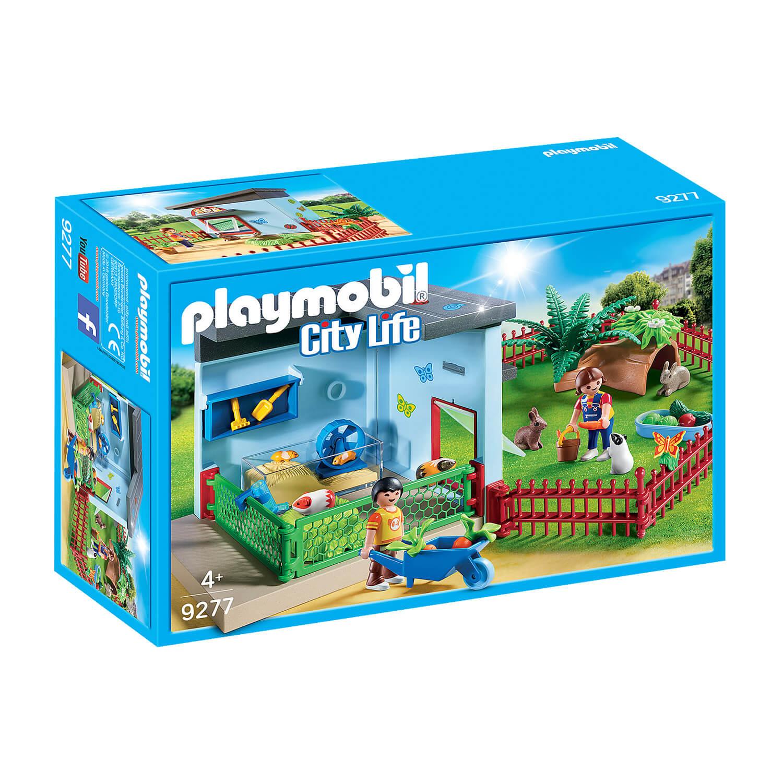 Playmobil 9277 City Life : Maisonnette des rongeurs et lapins