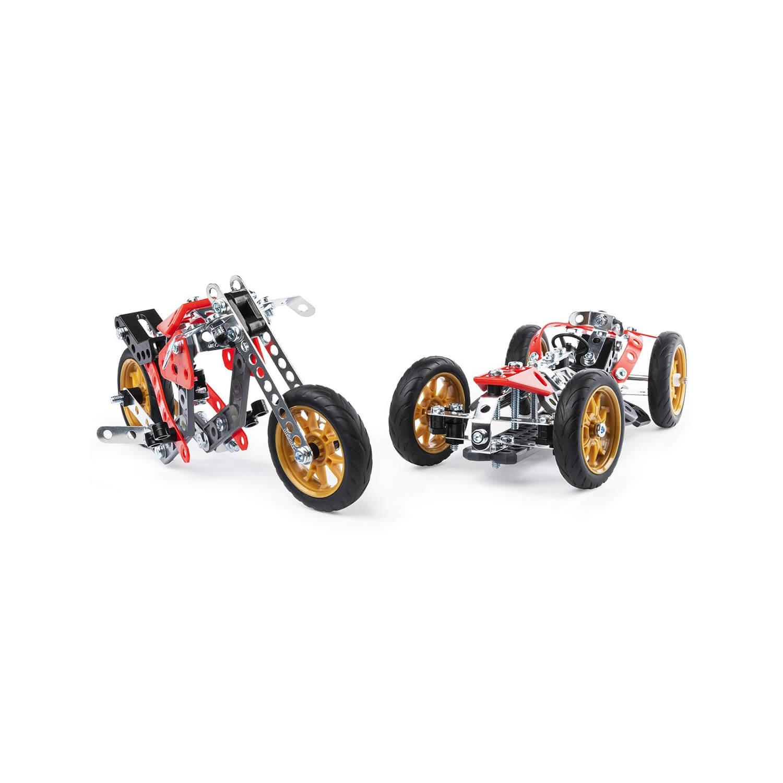 Meccano : Voitures et motos : 5 modèles