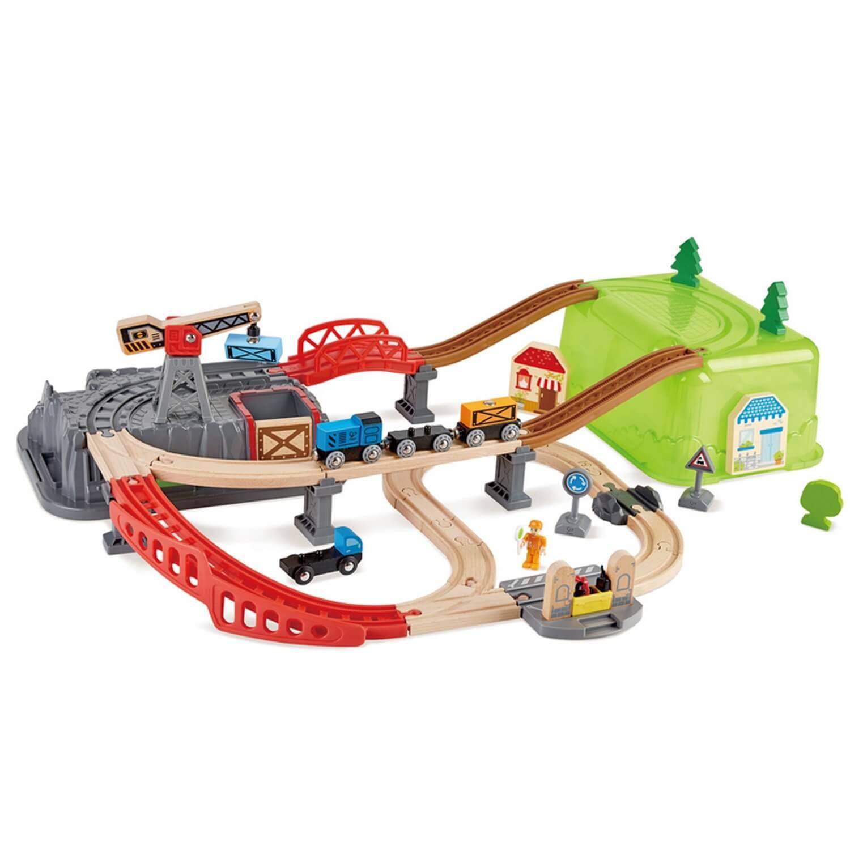 Coffret de trains 2 en 1 - Construis ta ville