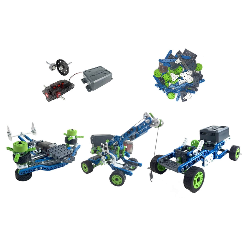 Meccano : Kit d'inventions : Moteur et engrenages