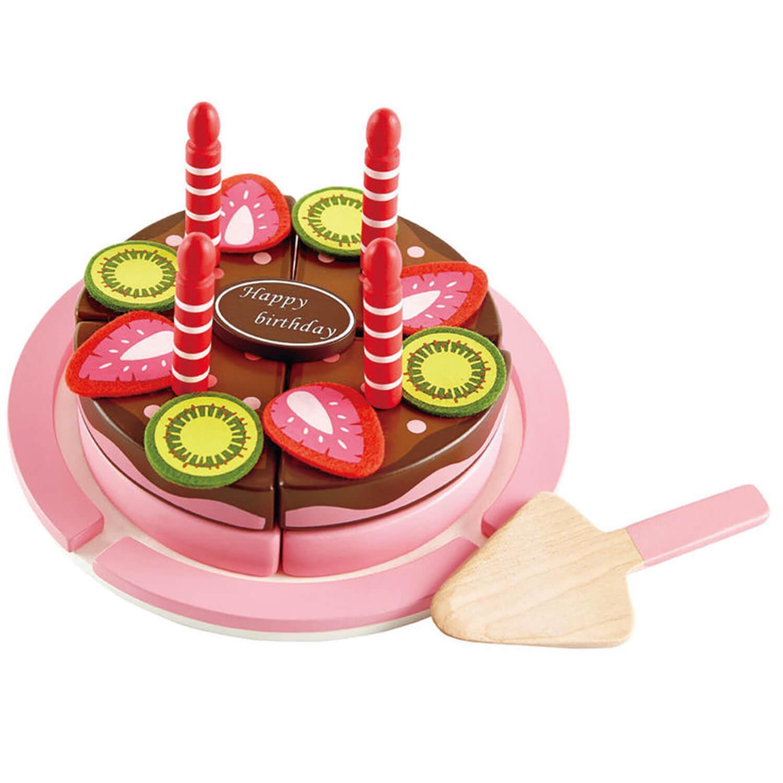 Gâteau d'anniversaire Fraise chocolat