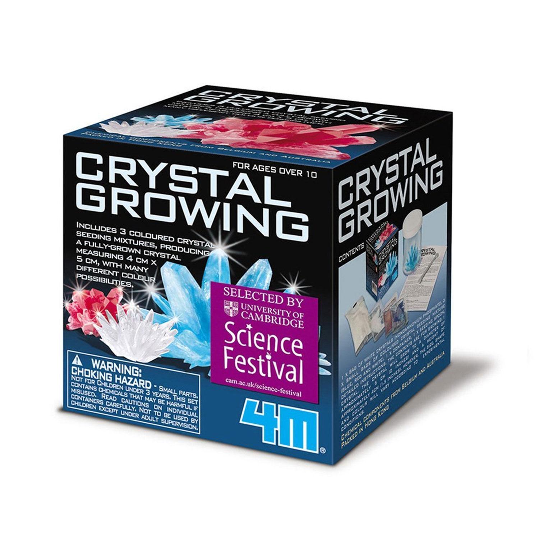 Croissance de cristaux : 4M Science in action