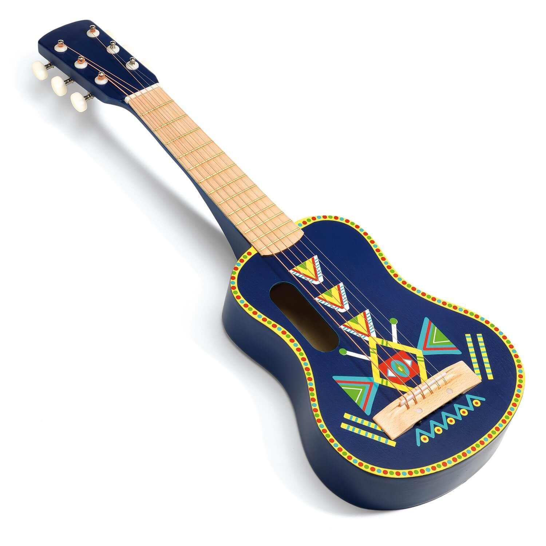 Guitare 6 cordes métalliques