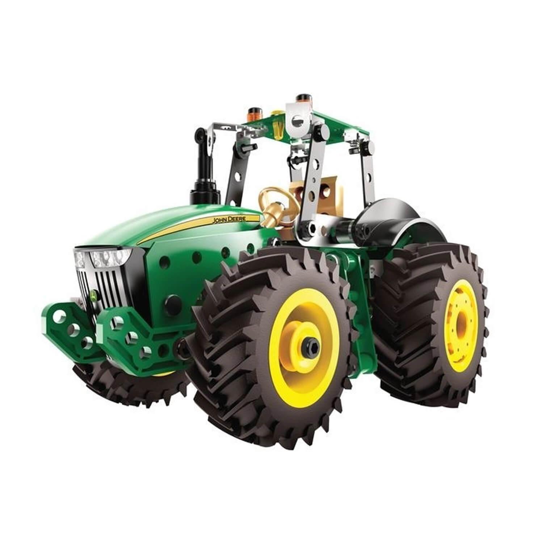 Meccano : Tracteur 8R John Deere