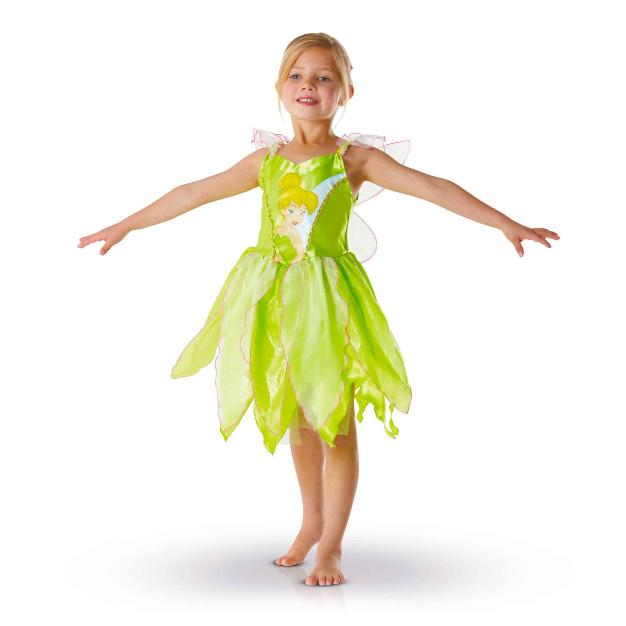 Déguisement Disney Fairies classique Fée Clochette : 3/4 ans
