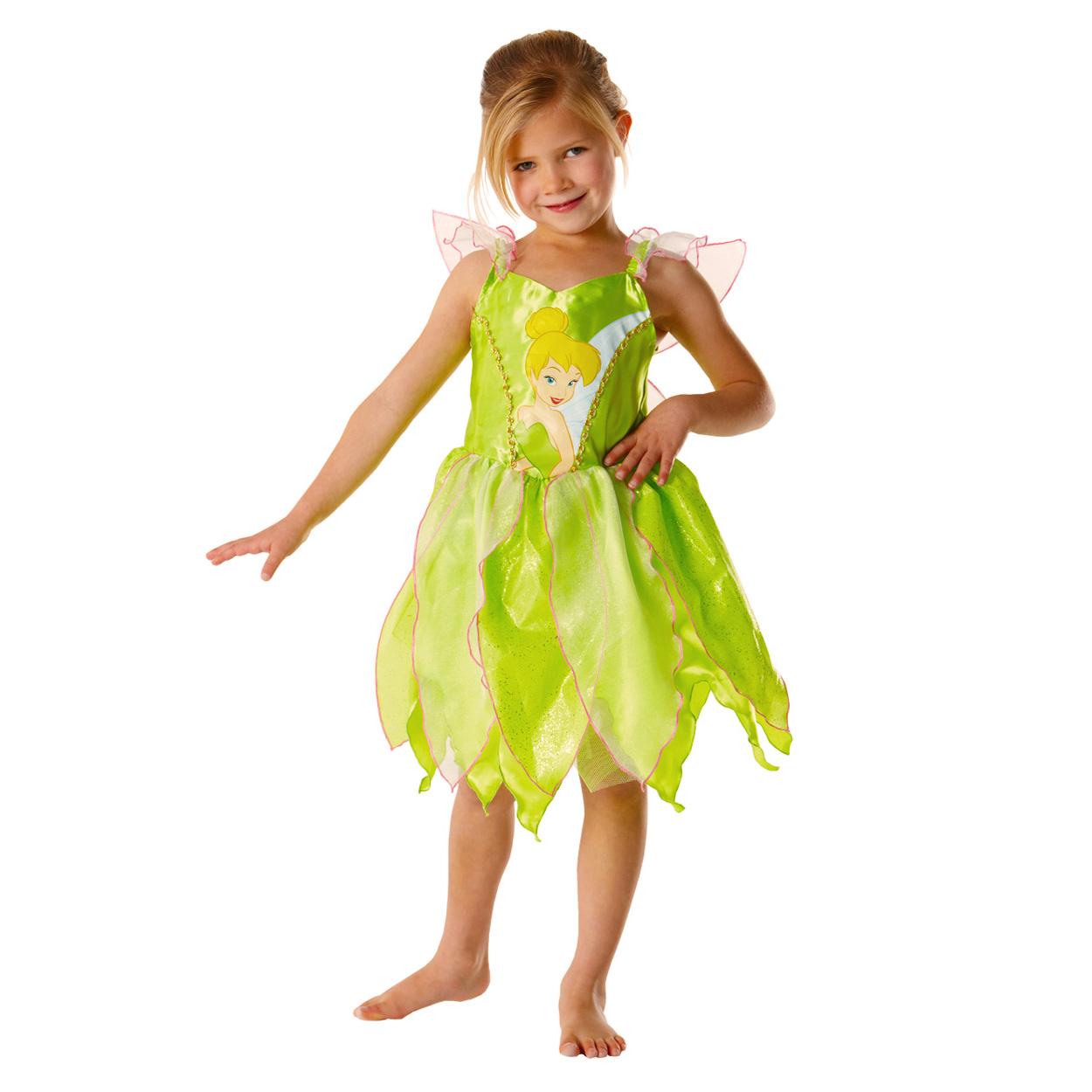 Déguisement Disney Fairies classique Fée Clochette : 5/7 ans