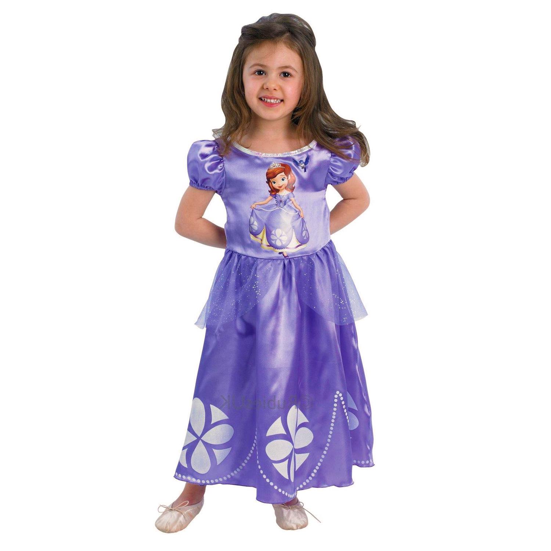 Déguisement Princesse Sofia : Panoplie classique : 5/6 ans