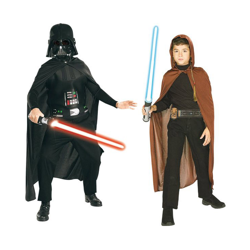 Déguisement Star Wars Coffret : Dark Vador et Jedi 3/5 ans