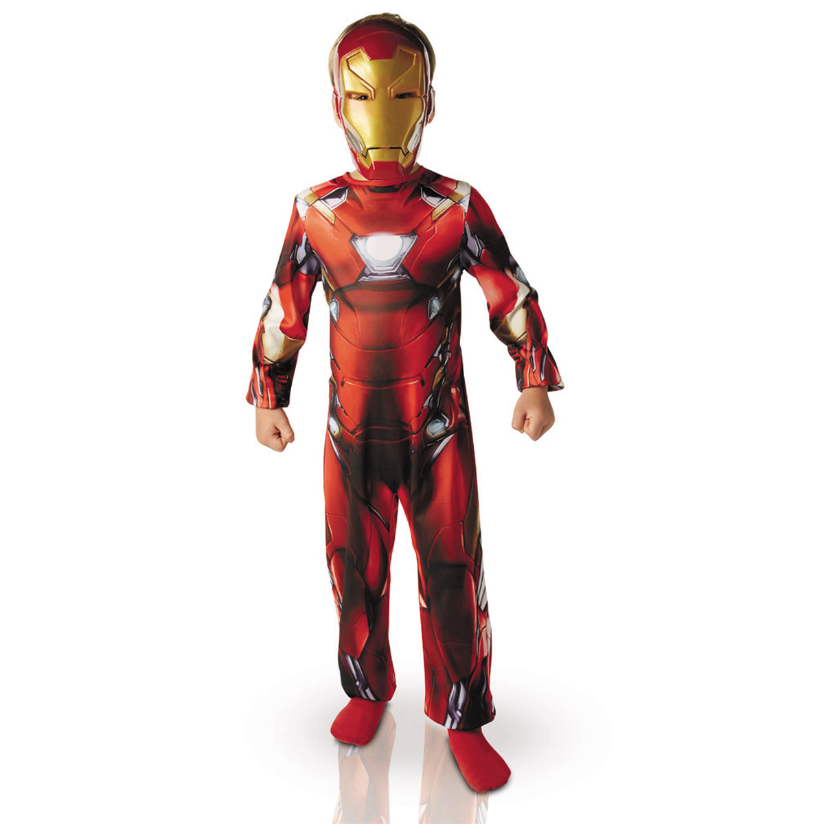 Déguisement Classique Iron Man : Civil War 5/7 ans