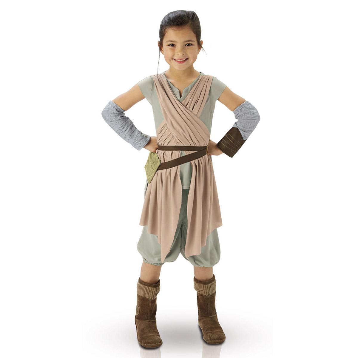 Déguisement Enfant Luxe Rey : Star Wars VII : 5/6 ans