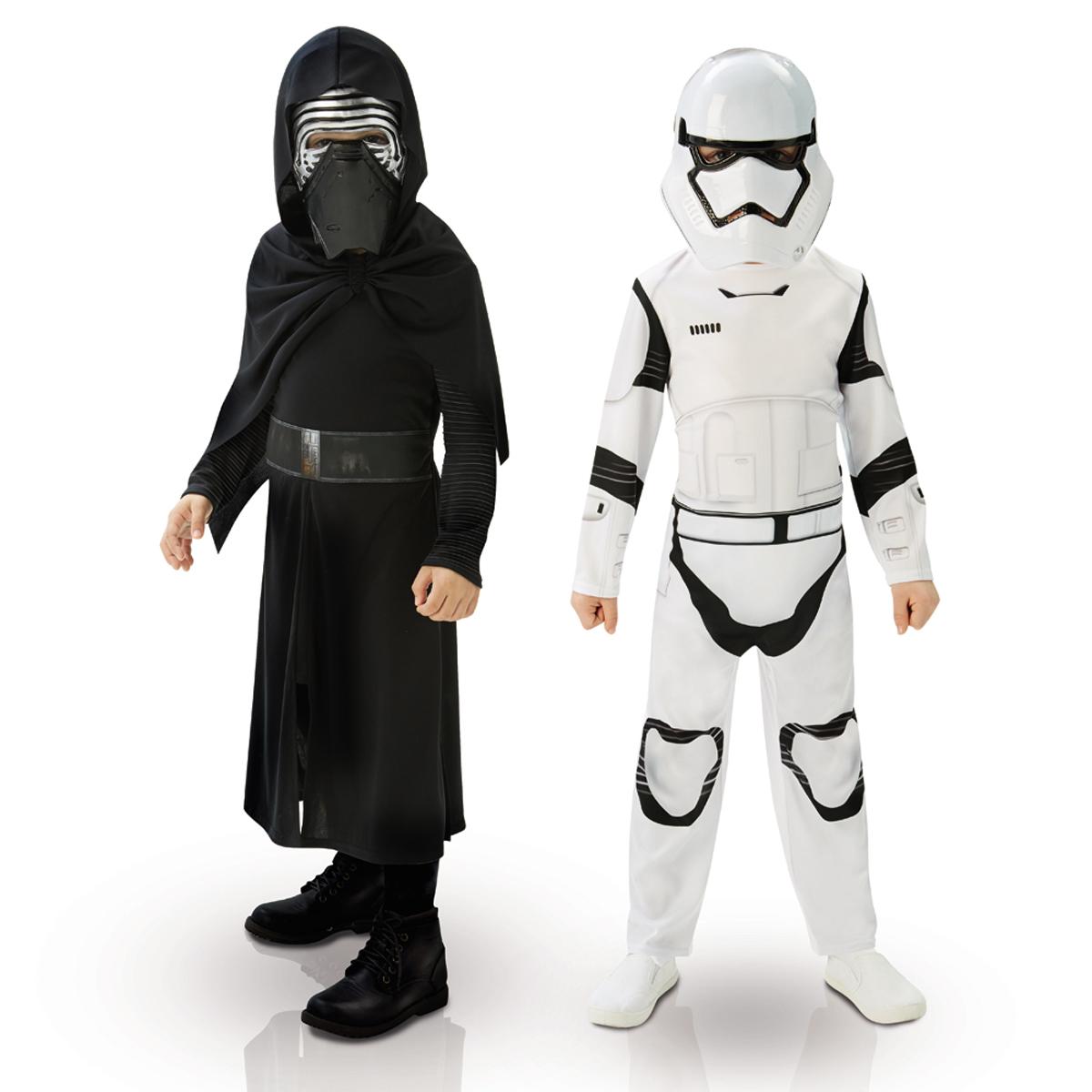Boite Vitrine Kylo Ren et Stormtrooper - Star Wars VII 5/6 ans