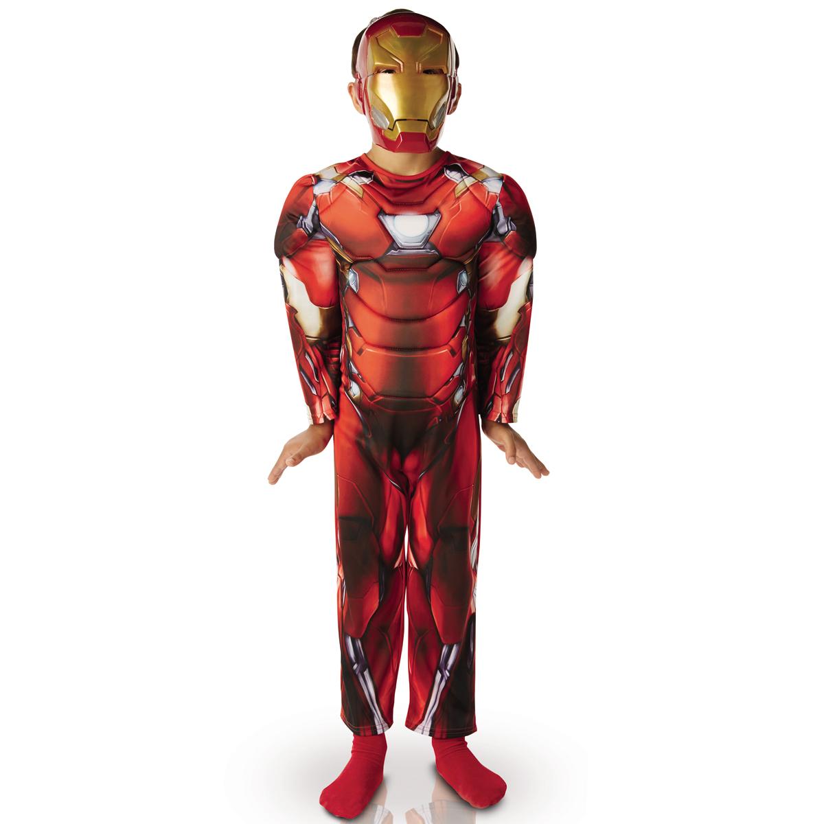 Déguisement Luxe Enfant Iron Man : Civil War 8/10 ans