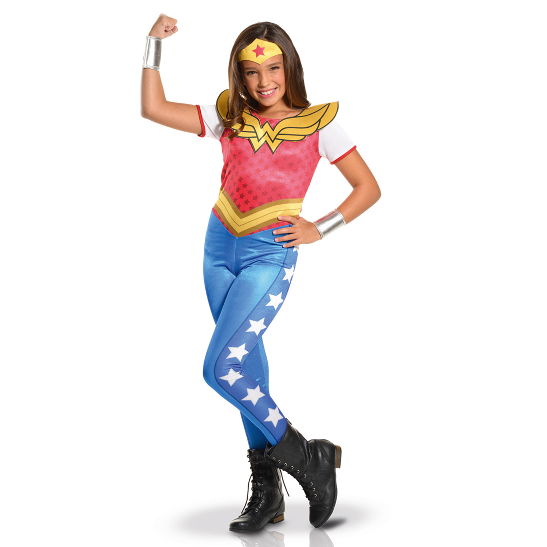 Déguisement Wonder Woman - DC Super Héros Girls : 5/7 ans