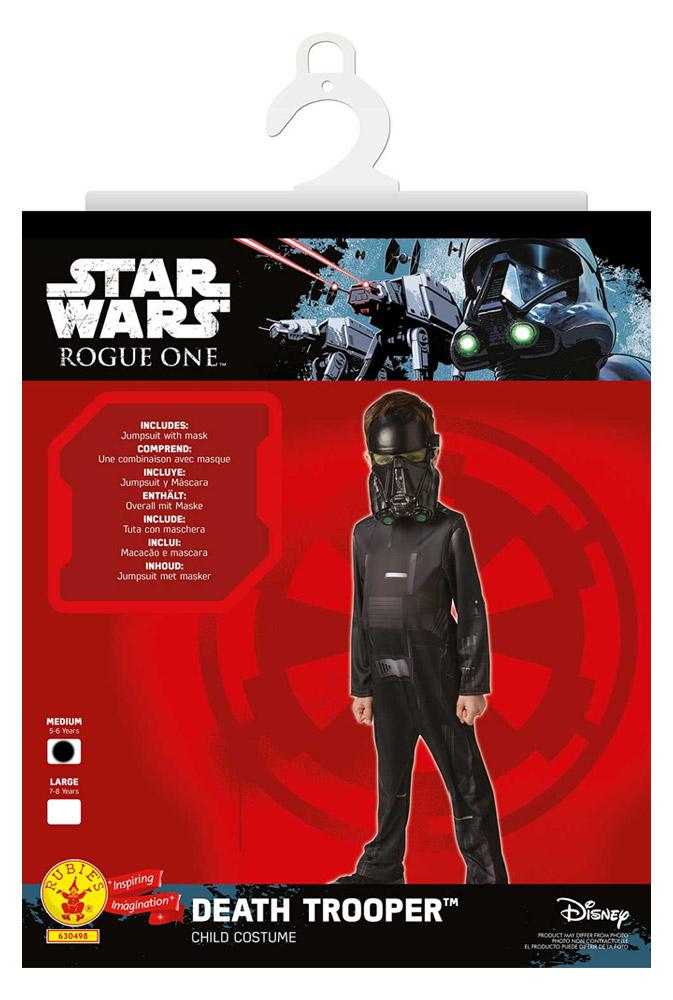 Déguisement Star Wars : Death Trooper : 5 /6 ans