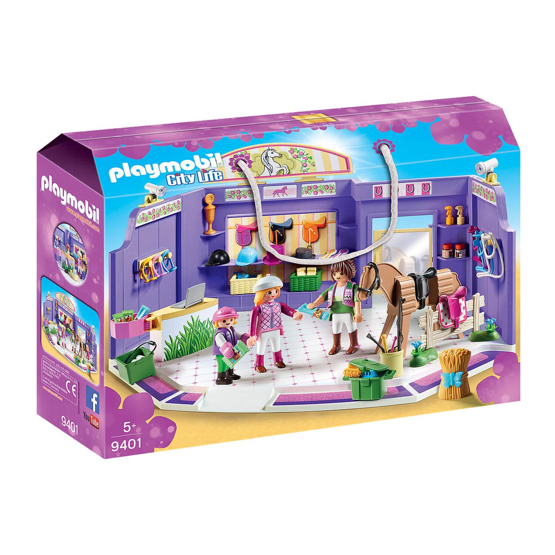 Playmobil 9401 City Life : Boutique d'équitation