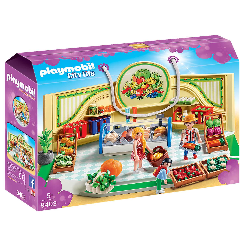 Playmobil 9403 City Life : Épicerie