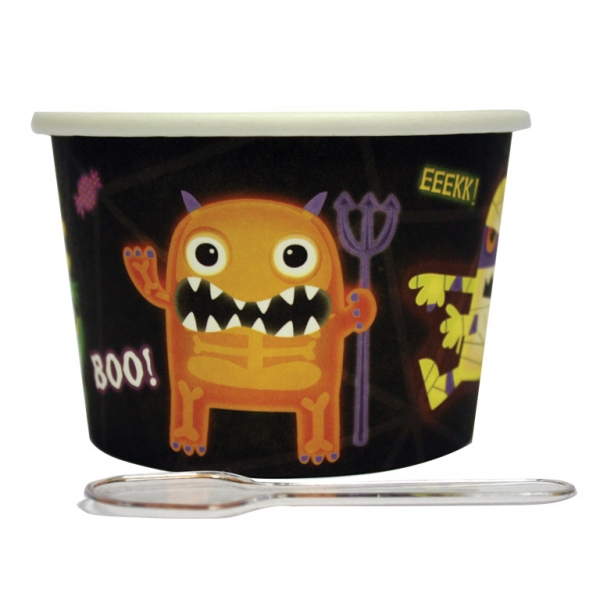12 Pots Dessert Halloween Monsters