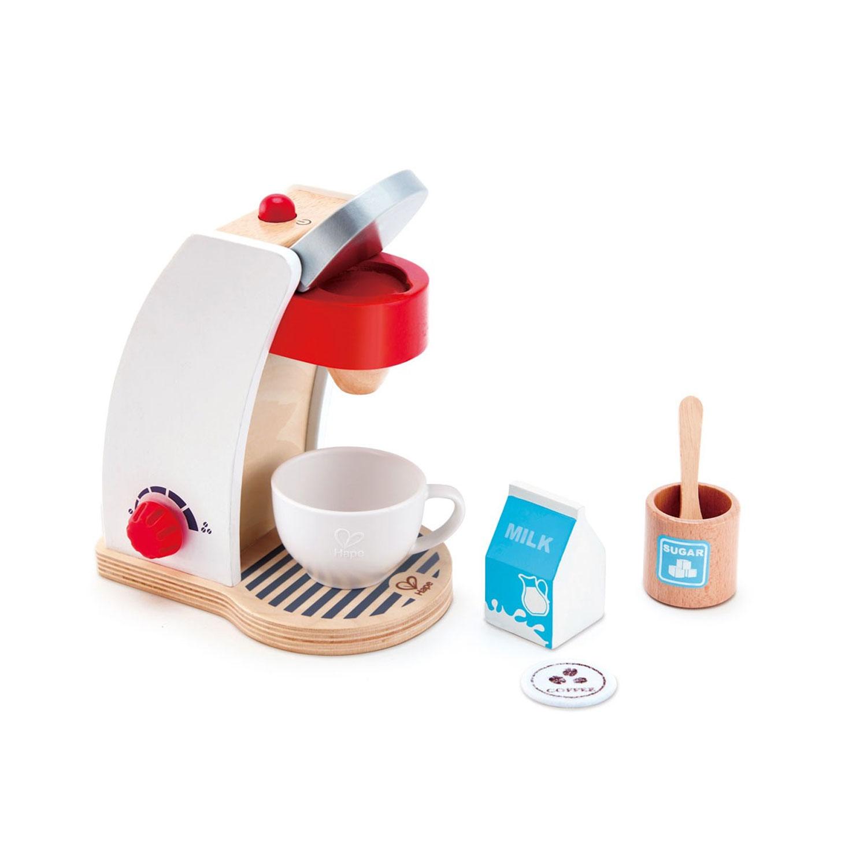 Machine à café en bois blanche