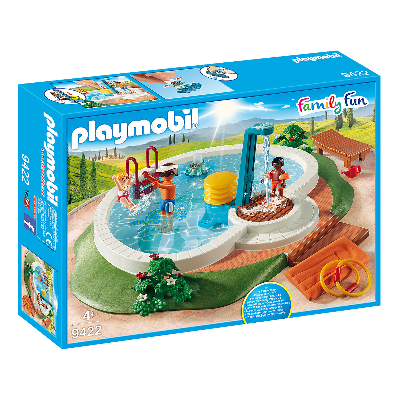 Playmobil 9422 Family Fun : Piscine avec douche
