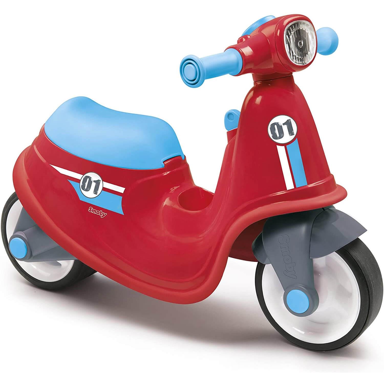 Porteur scooter rouge