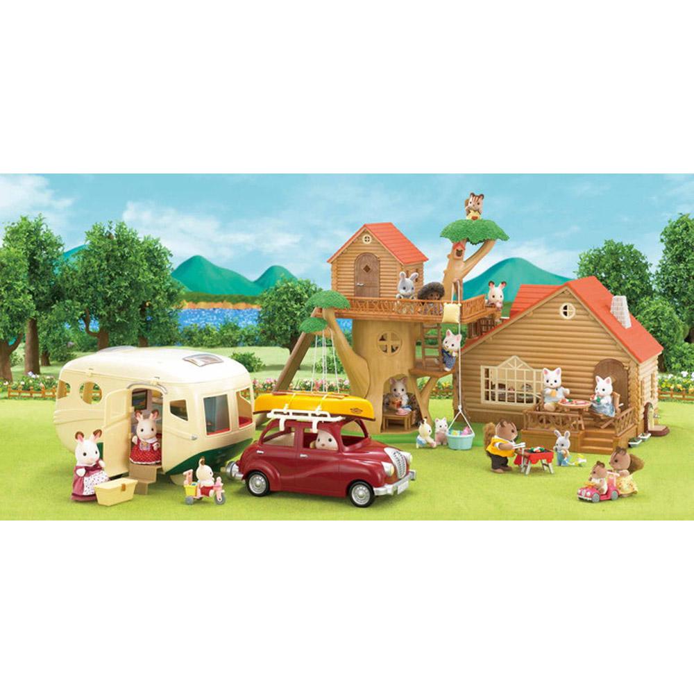 Sylvanian Family 5045 Caravane Jeux Et Jouets Sylvanian Families
