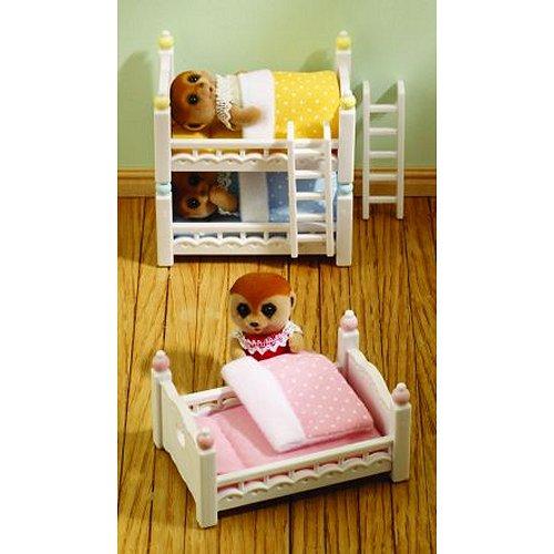 Sylvanian Family 2919 : Lits superposés à 3 couchettes bébés