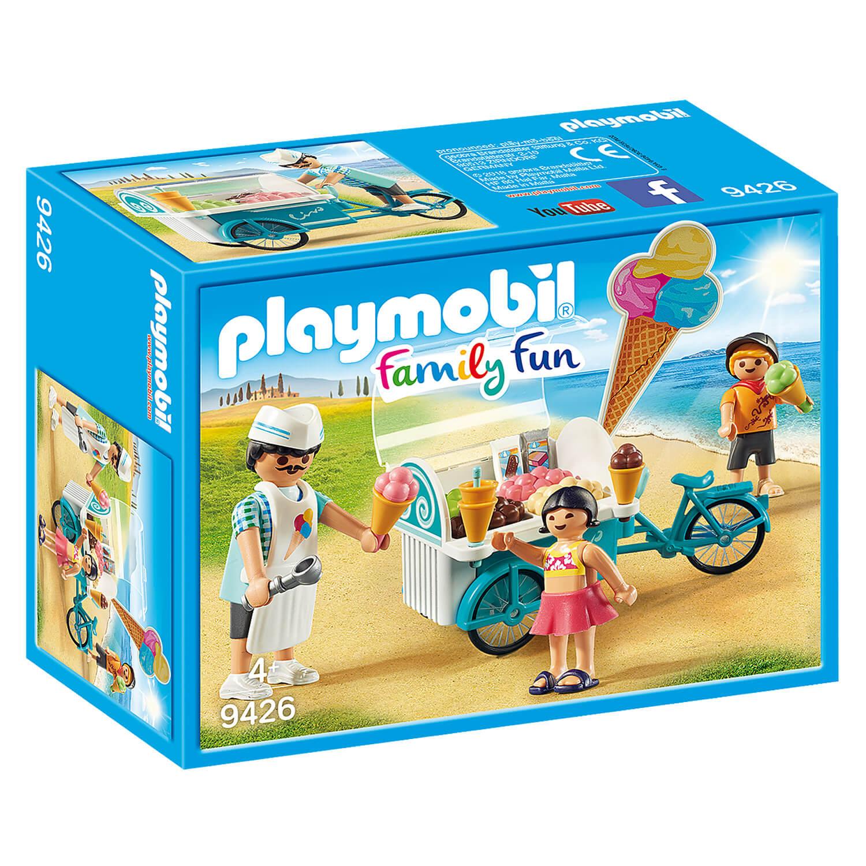 Playmobil 9426 Family Fun : Marchand de glaces et triporteur