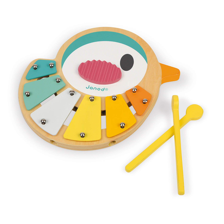 Xylophone en bois Oiseau pure