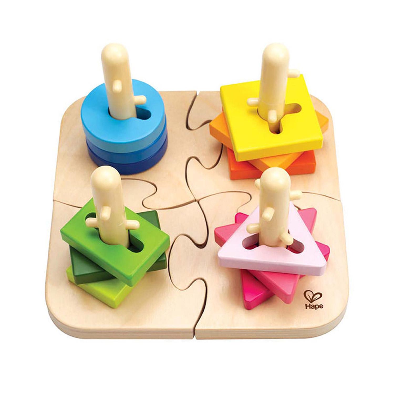 Puzzle à boutons créatifs