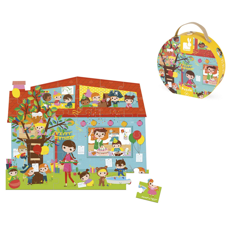 Puzzle 36 pièces : Goûter d'anniversaire