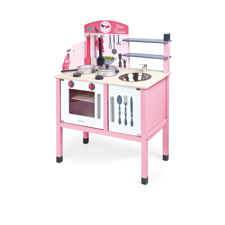 Cuisinière en bois : La maxi cuisine mademoiselle
