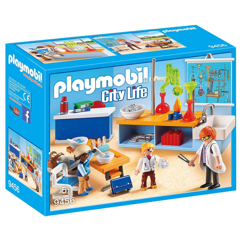 Playmobil 9456 City Life : Classe de physique chimie