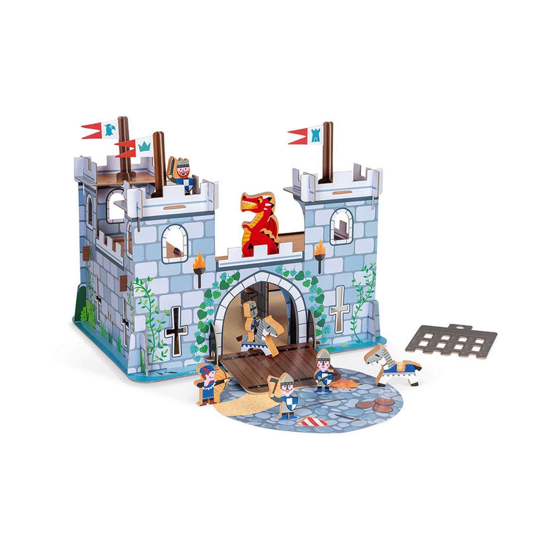 Château Fort en carton et bois - Story