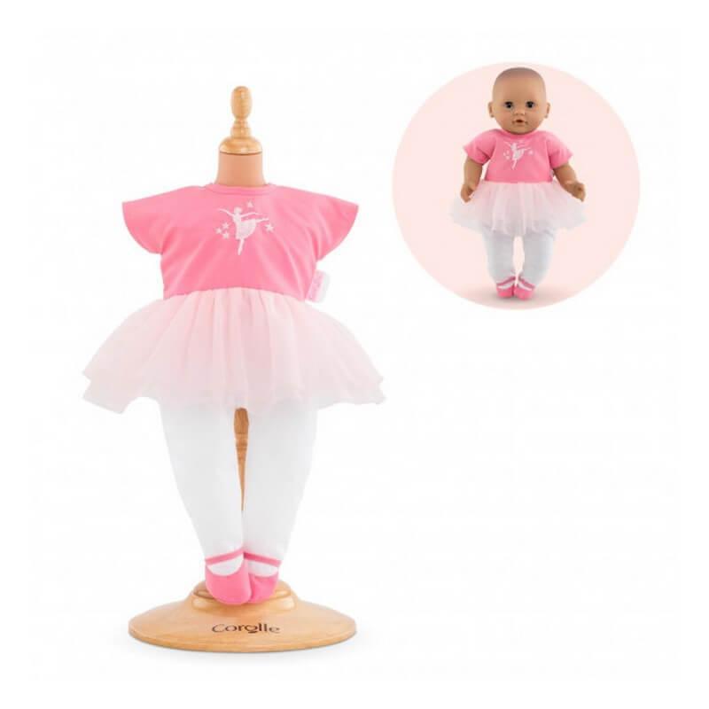 Vêtement pour poupée mon premier poupon Corolle 30 cm : Combinaison Ballerine Opéra