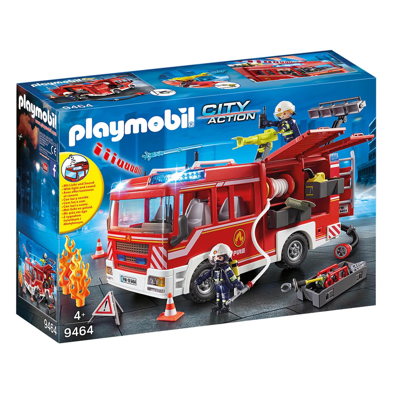 Playmobil 9464 City Action : Fourgon d'intervention des pompiers
