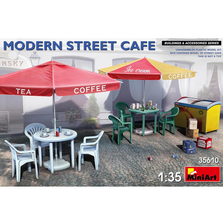 Accessoires de dioramas : Café de rue