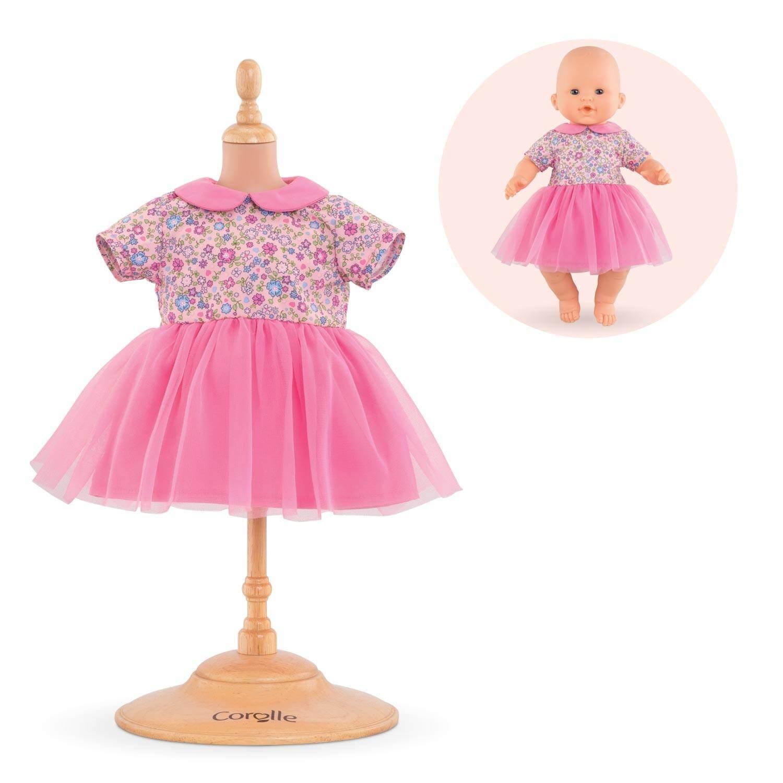 Vêtement pour mon premier poupon 30 cm Corolle : Robe Rose Pays Des Rêves