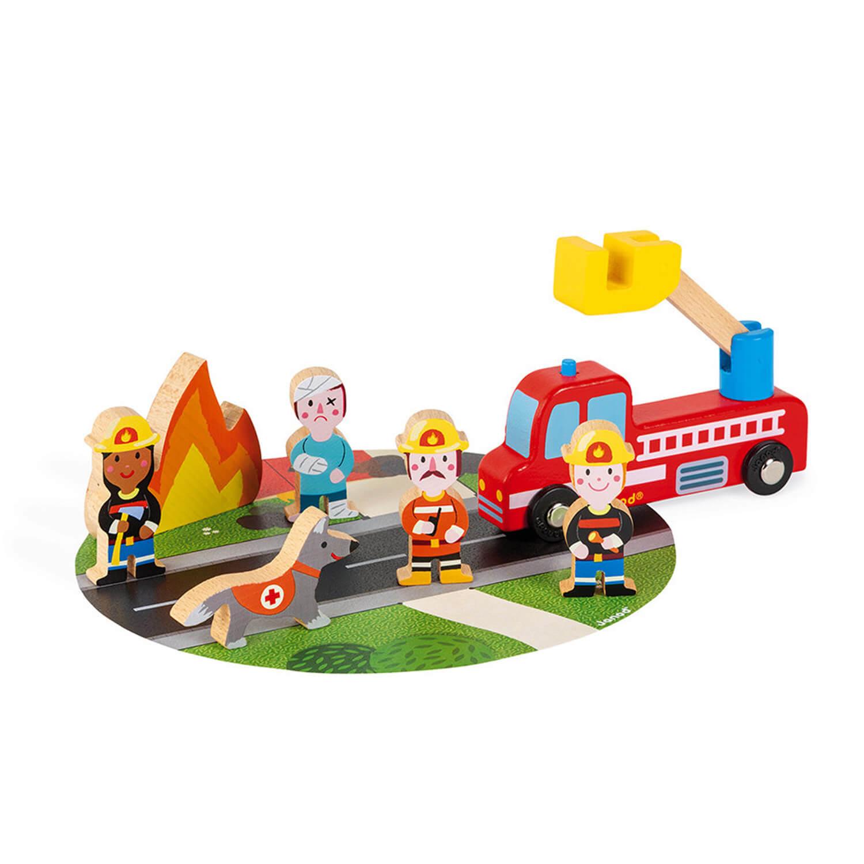 Set de figurines Story : Pompiers