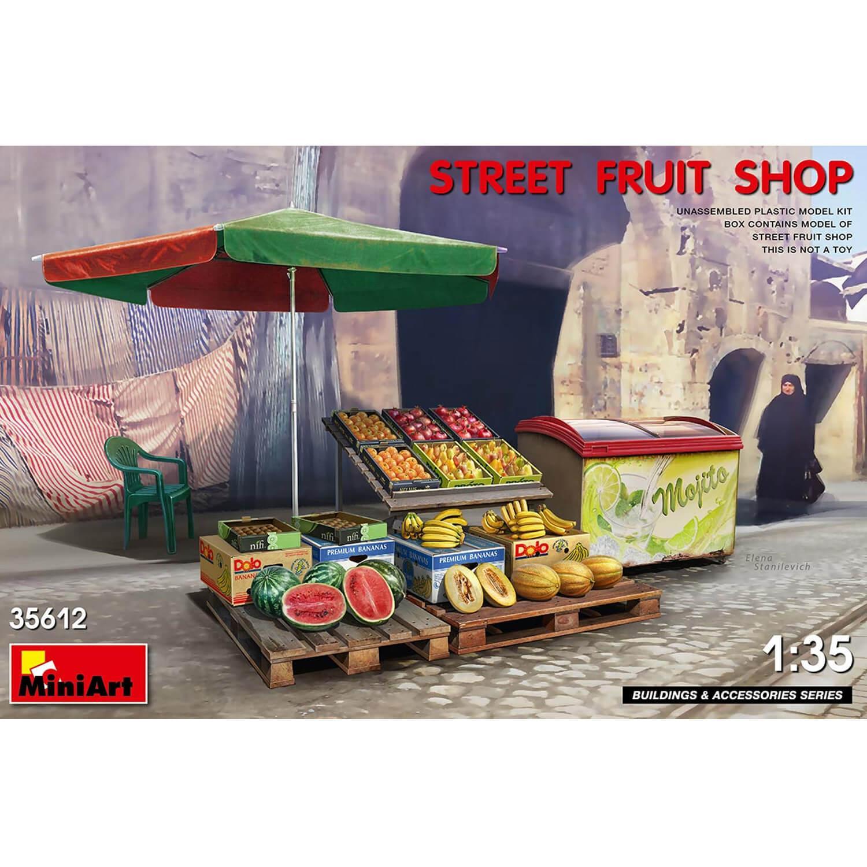Accessoires de dioramas : Marché de fruits