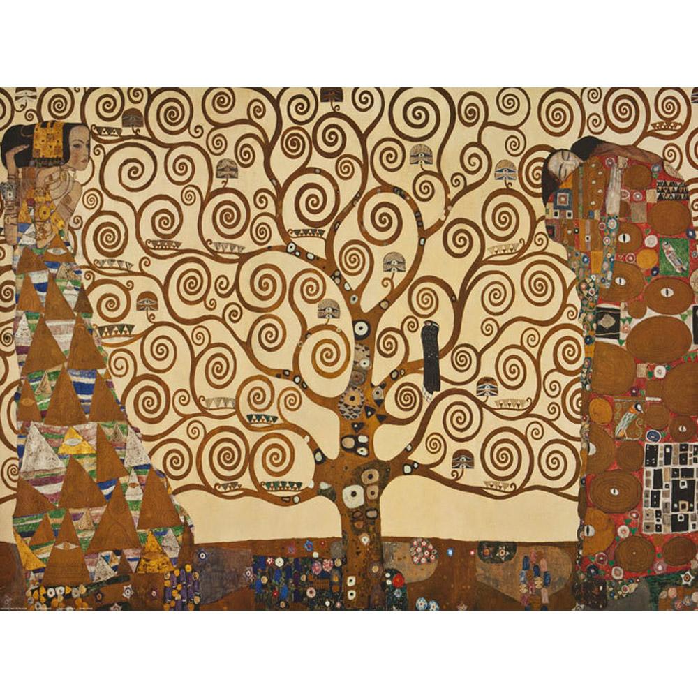 Klimt L Arbre De Vie Tableau puzzle 1500 pièces : l'arbre de vie, gustav klimt